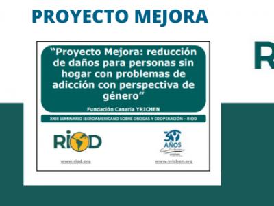 PROYECTO MEJORA, reconocido por RIOD por sus buenas prácticas durante la pandemia.
